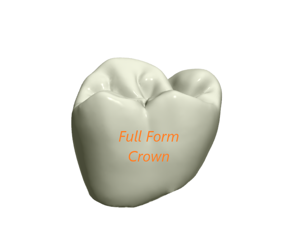 Full  Form  Crown